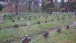Galeria Stary Cmentarz Jeniecki przed konserwacją